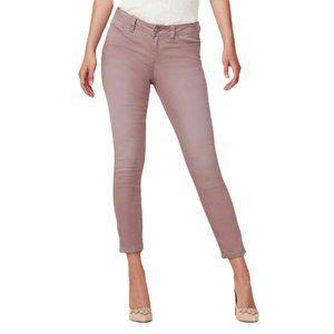 LC Lauren Conrad Women Size 10 Pink Mauve Skinny Ankle Jeans